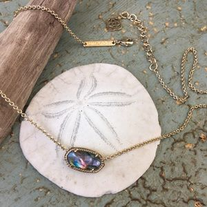 Kendra Scott Elisa Necklace in Abalone Shell